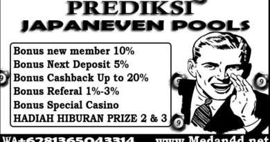 Prediksi JapanEven Sabtu 04 April 2020